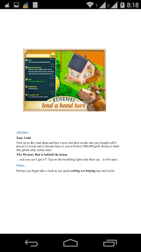 Guide and Solution for Hay Day