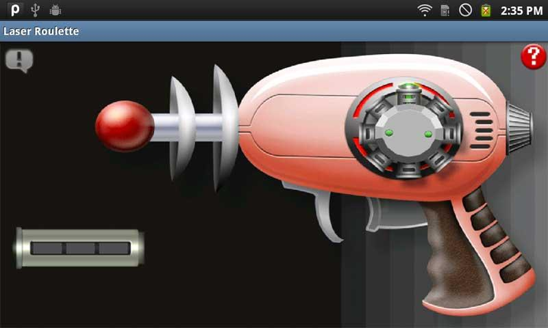 Laser Roulette - screenshot