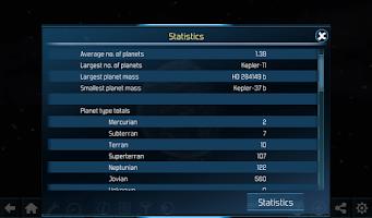 Screenshot of Exo Planets Explorer 3D