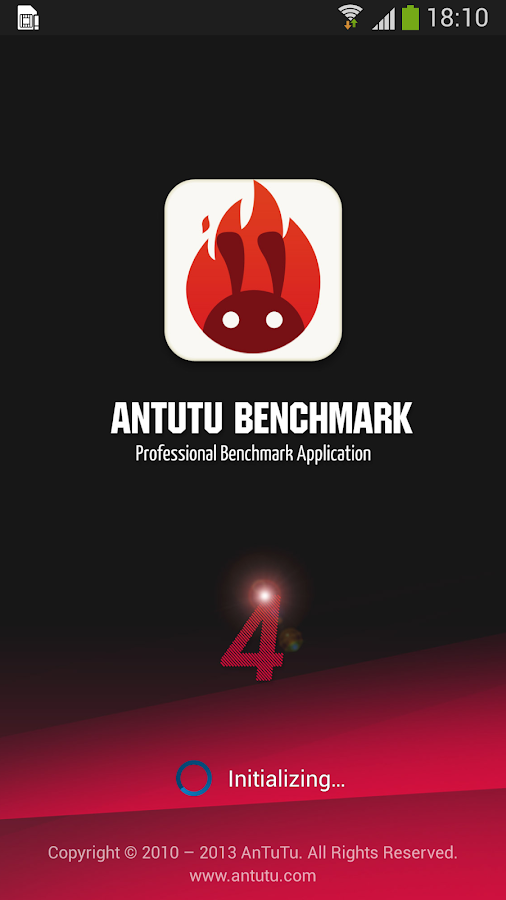 AnTuTu Benchmark - screenshot