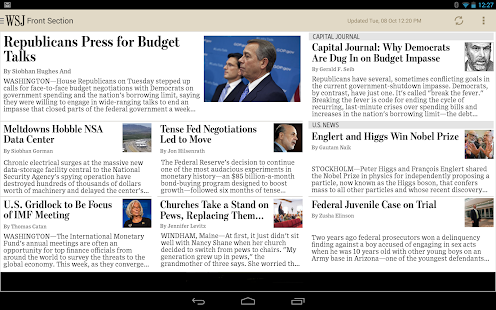 The Wall Street Journal: News Screenshot 16