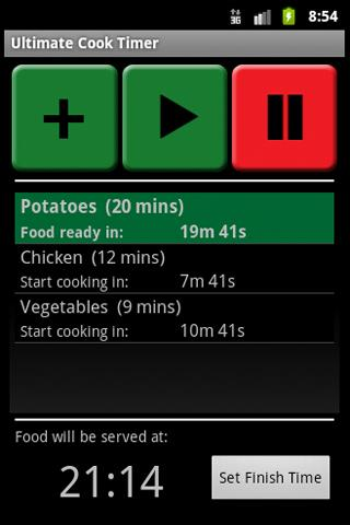 Ultimate Cook Timer - screenshot