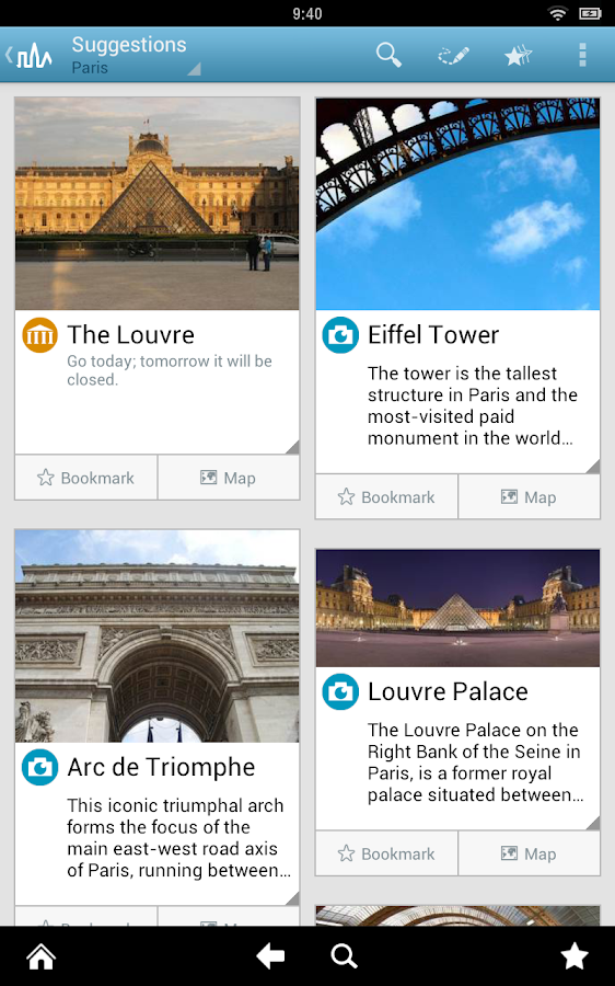 Paris Travel Guide by Triposo - screenshot