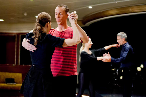 Azamara-Dance-Class - Try new things like ballroom dancing when you sail with Azamara cruises.