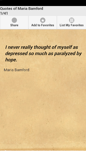 Quotes of Maria Bamford