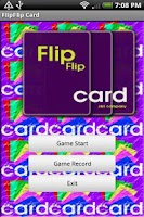 Screenshot of FlipFlip Card Lite