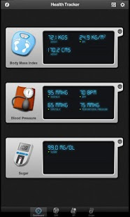Health Tracker Pro for Tablets - screenshot thumbnail