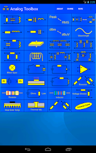 Analog electronics Toolbox - screenshot thumbnail