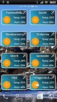 Screenshot of Weather Droid