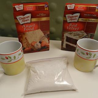 3-2-1 Microwave Cake in a Mug!