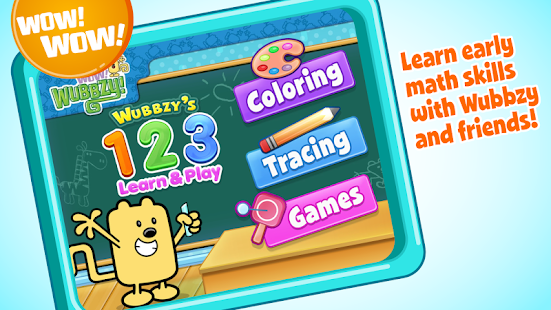 Wubbzy's 123 Learn Play
