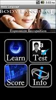 Screenshot of Body Language - Expressions