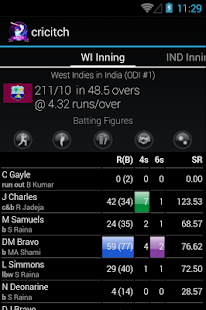 LIVE cricket Scores - screenshot thumbnail