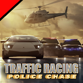 Traffic Racing police chase
