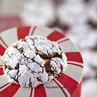 Chocolate Gingerbread Crinkles