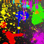 Paint Splatter Live Wallpaper