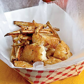 Beer-Battered Fish and Chips.
