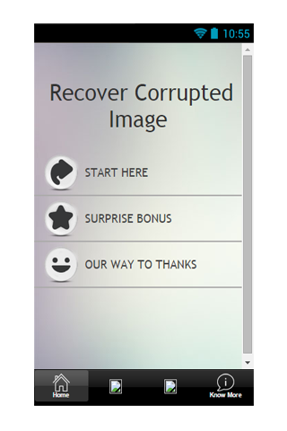 Recover Corrupted Image Guide