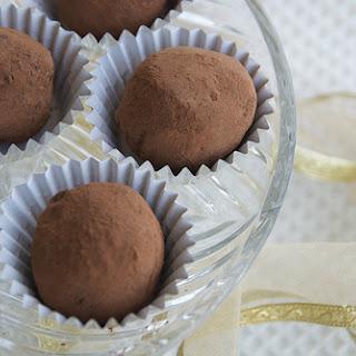 Easy Chocolate Ginger Truffles.