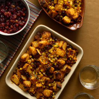 Chorizo Corn Bread Stuffing.