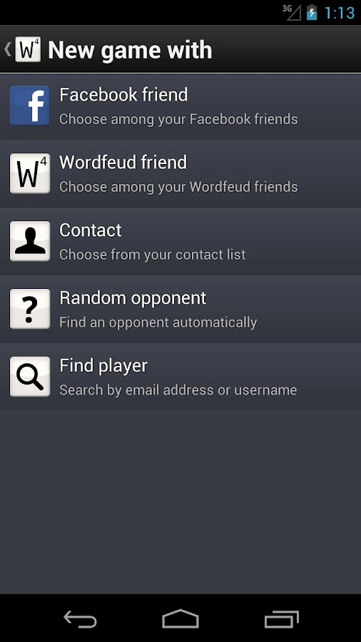 Wordfeud FREE - screenshot