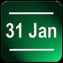 Date Status Bar 2 icon