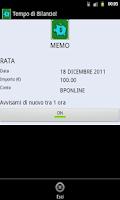 Screenshot of Balance Sheet