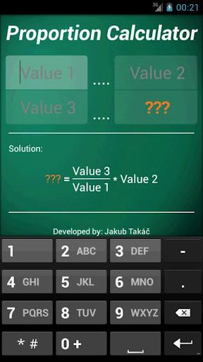 Proportion Calculator
