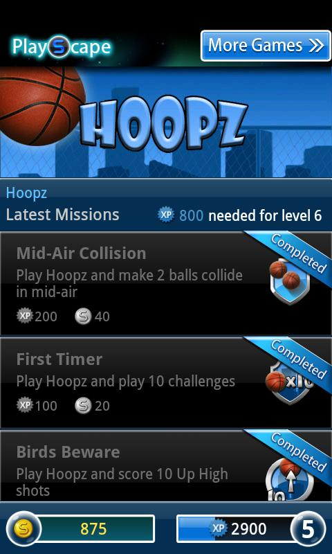 Hoopz Basketball - screenshot