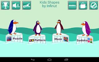 Screenshot of Kids Shapes