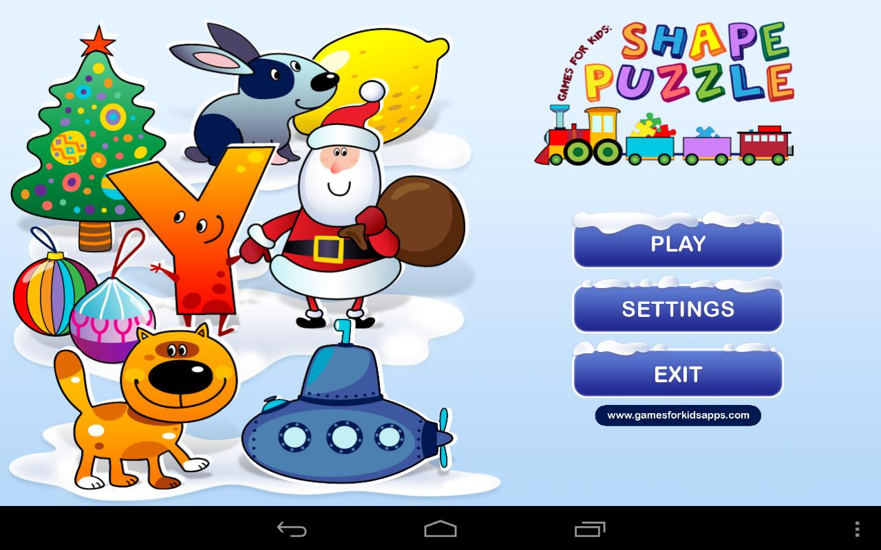 Games for Kids: Shape Puzzle - Android Apps on Google Play
