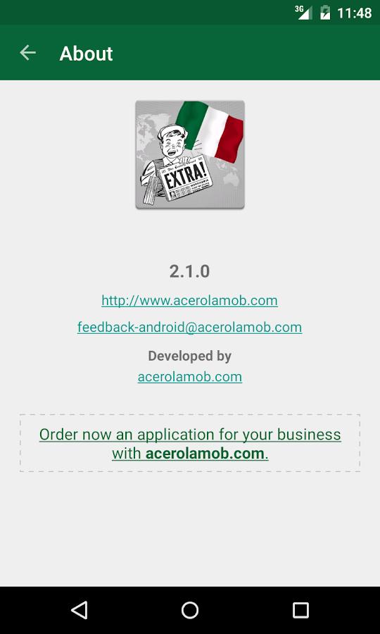 Italia Notizie - screenshot