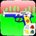 【無料】ToyGun for きせかえランチャーPRO icon