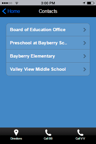 Watchung Borough Schools- screenshot