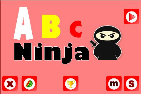 Abc game ninja heli puzzle