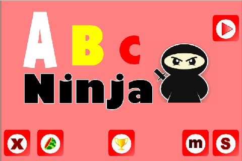 Abc (ninja heli puzzle match)- screenshot
