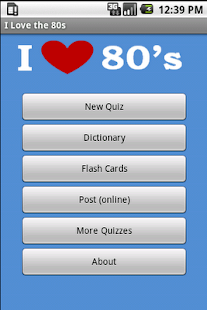 I Love 80's Music & Movie Quiz - screenshot thumbnail