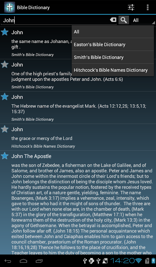 Complete Bible Dictionary FREE- screenshot