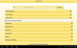 Screenshot of Tofulicious