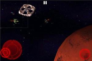 Screenshot of Mars Defender: Space RPG