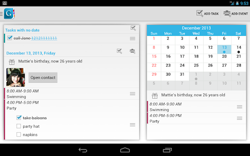 Day by Day Organizer Free- screenshot thumbnail