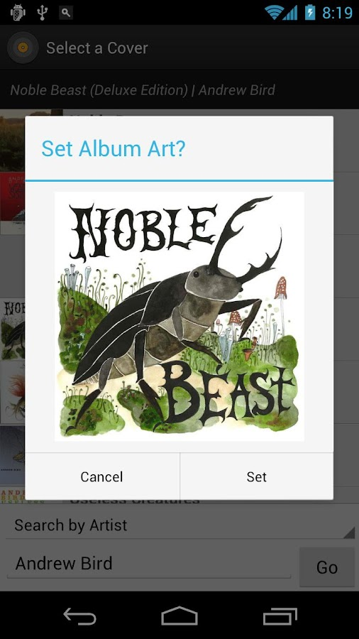 Album Art Grabber - screenshot