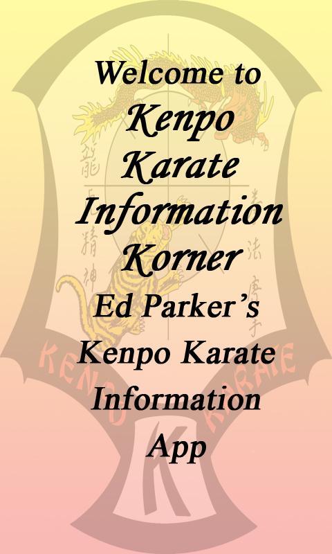 Kenpo Karate Info Lite- screenshot