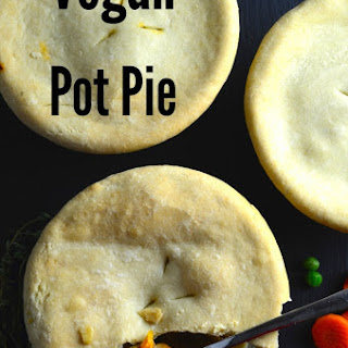 Vegan Pot Pies With White Wine Gravy & Olive Oil Crust.