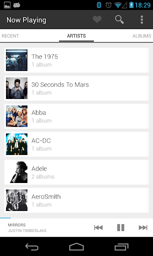 Now Playing Music Player v1.46