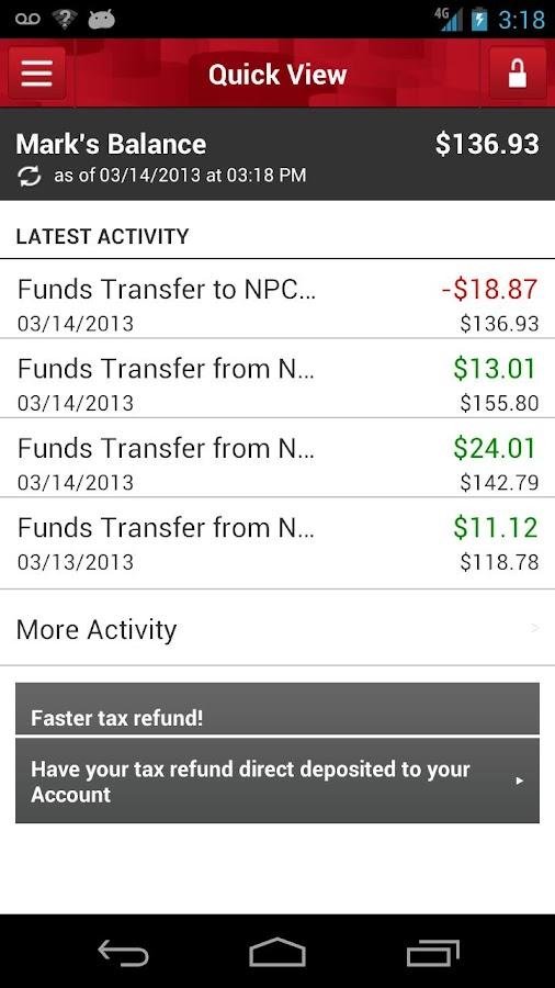 Money Network® Mobile App - screenshot
