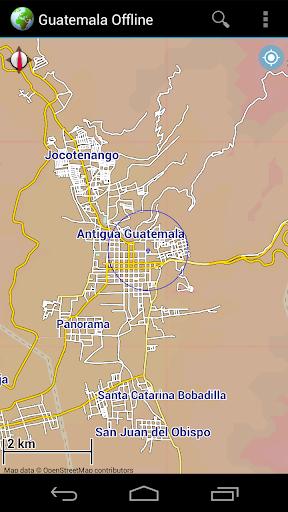 Offline Map Guatemala|玩旅遊App免費|玩APPs