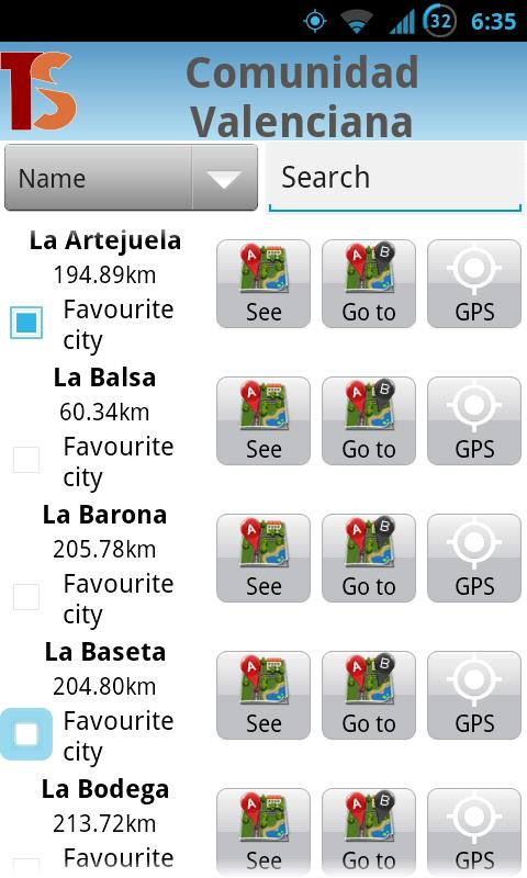 Balearic Islands Map -Palma... - screenshot