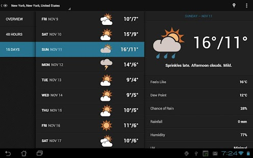 Eye In Sky Weather - screenshot thumbnail