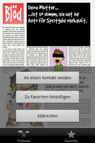 German your mother jokes! - screenshot